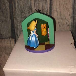 Disney Alice in wonderland sketchbook ornament